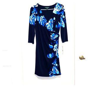 Ralph Lauren 3/4 Sleeve Jersey Dress